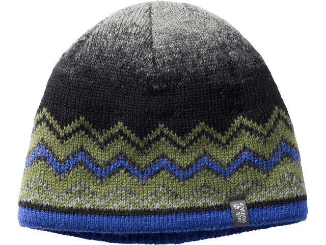 Jack Wolfskin Colorfloat Knit Cap Kinder cypress green